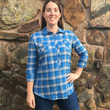 Bethany Plaid Top | Everly Grey