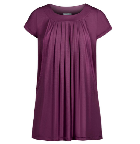 Pleated Maternity & Nursing Top | Plus | Milk Nursingwear