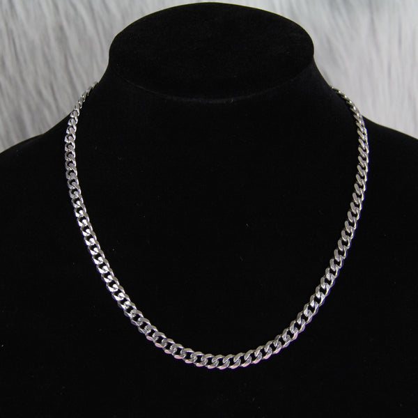 DAINTY FLAT CUBAN LINK NECKLACE