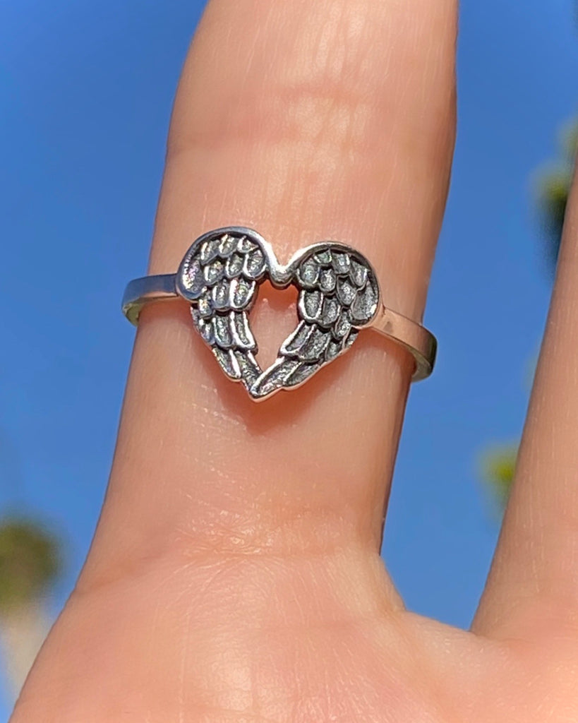 ANGELIC HEART RING