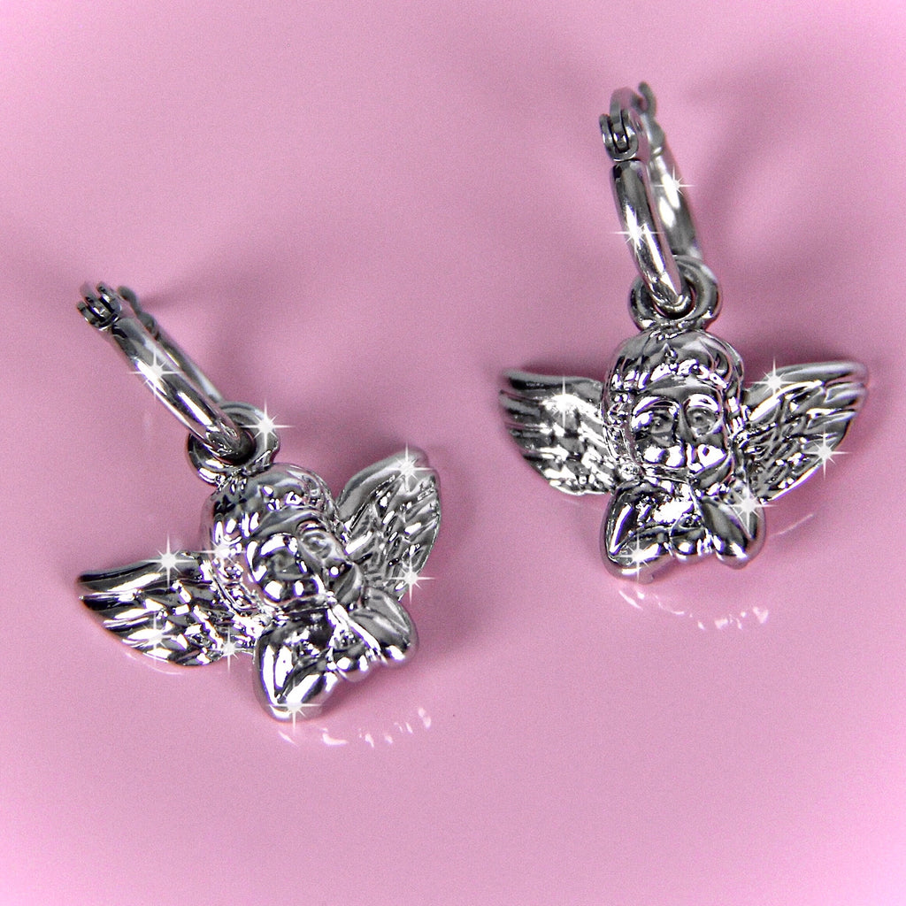 DAYDREAMING ANGEL EARRINGS