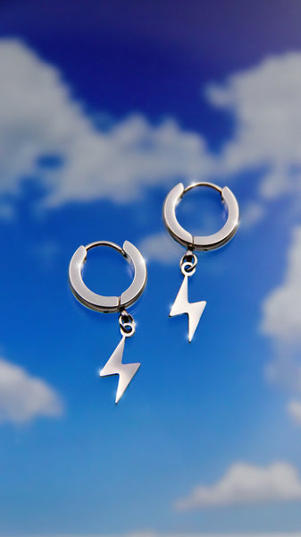CYBER LIGHTNING EARRINGS