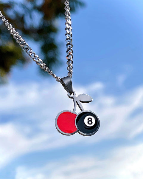 8 BALL CHERRY NECKLACE
