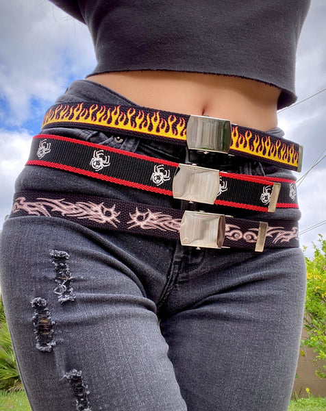 ON FIRE SLIDE BELT