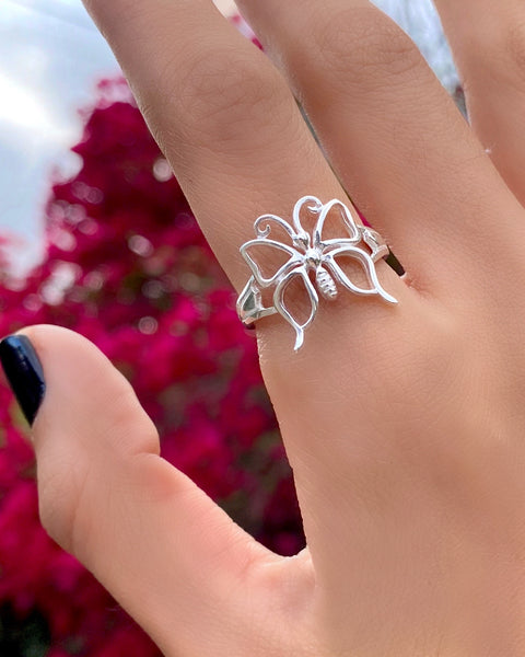 BLOSSOM BUTTERFLY  RING