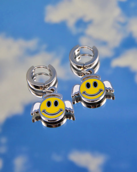 SMILEY ANGEL EARRINGS
