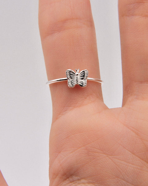 FRAGILE BUTTERFLY RING