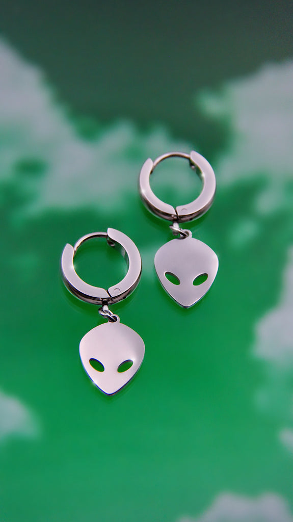 CYBER ALIEN EARRINGS