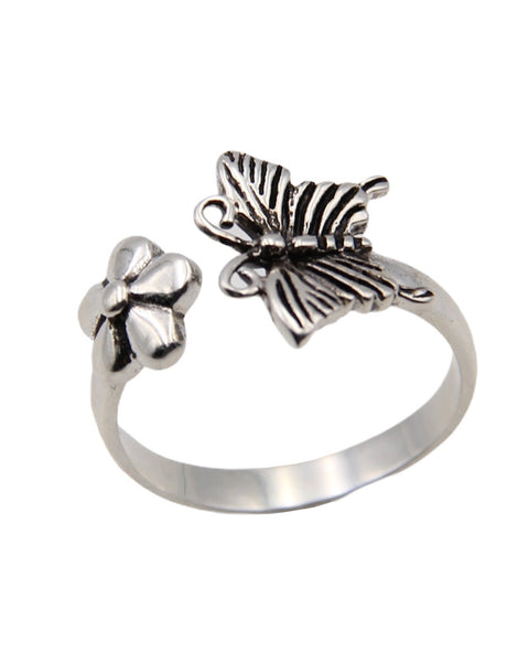 BUTTERFLY DAISY RING