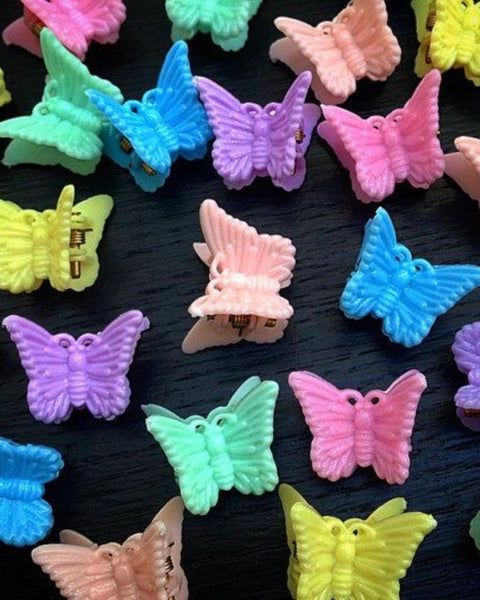 90's Butterfly Clips