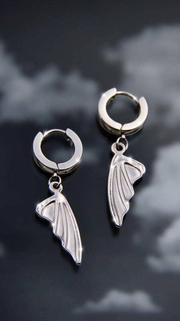 EVIL WINGS EARRINGS