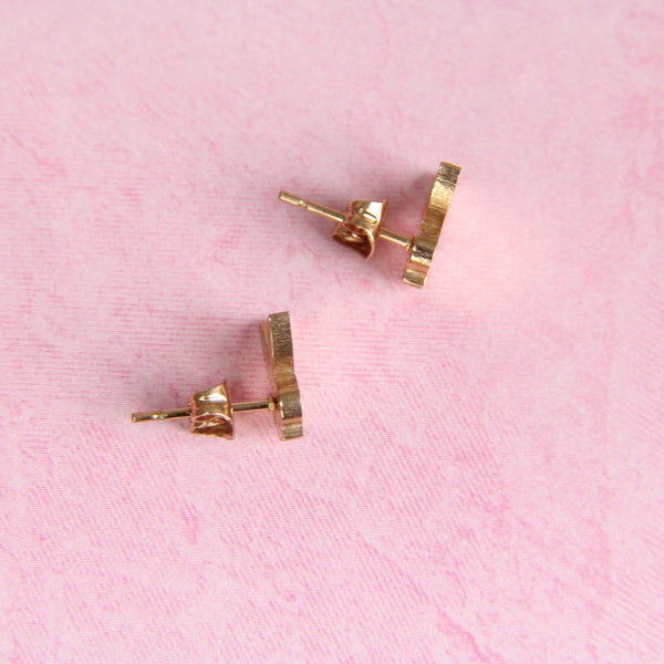 ROSE GOLD PLAYBOY STUDS