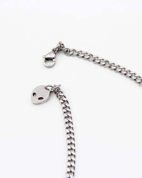 ACE OF SPADE SKULL NECKLACE
