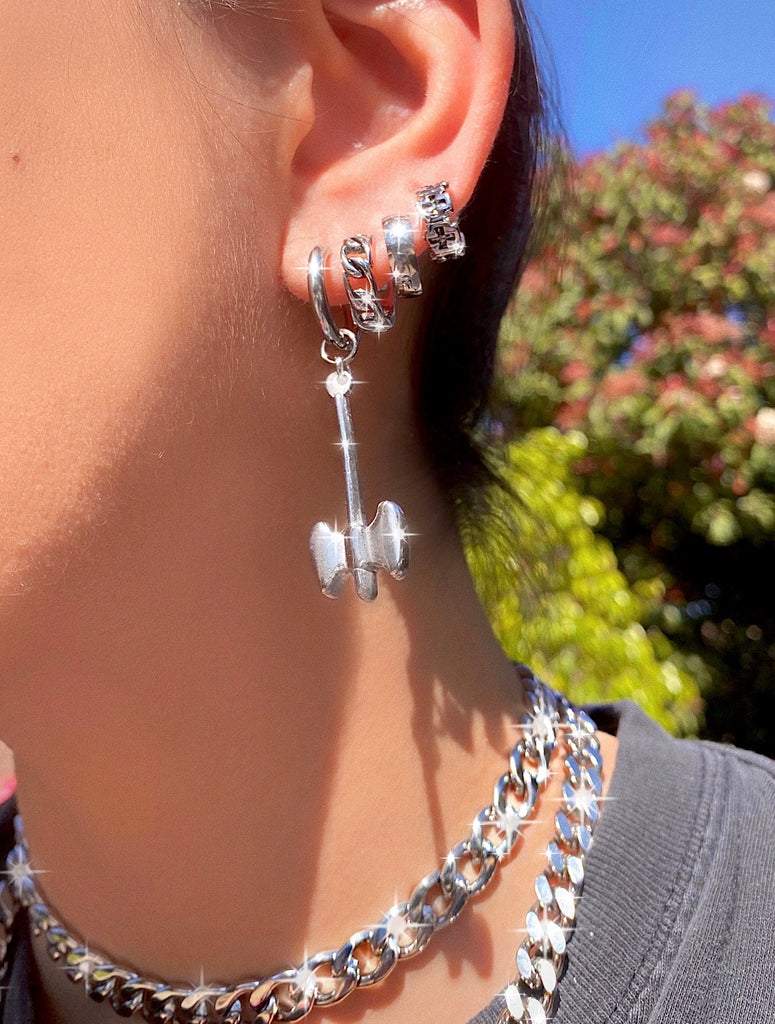 BATTLE AXE EARRING
