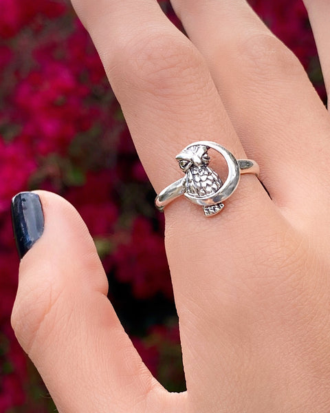 THE WISE OWL RING