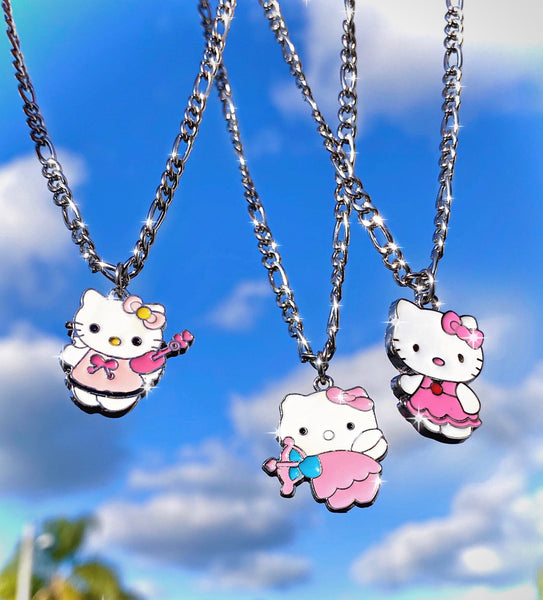 HELLO KITTY CUPID NECKLACE