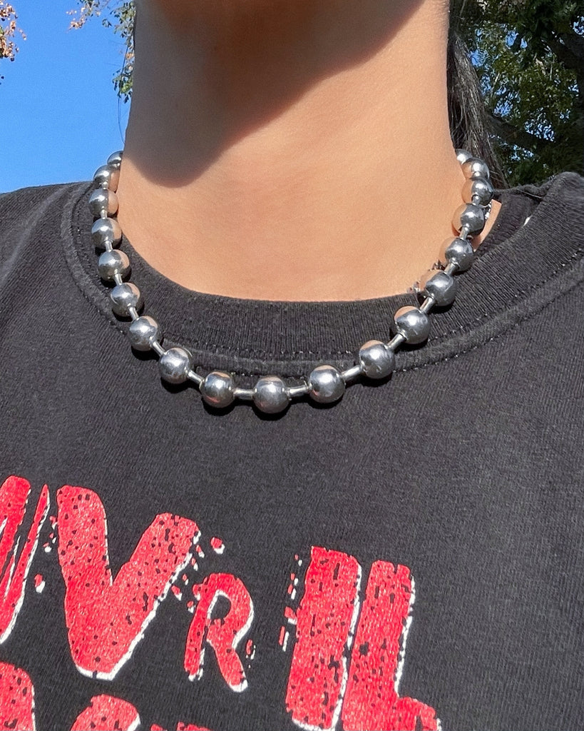 CHUNKY BALL CHAIN NECKLACE