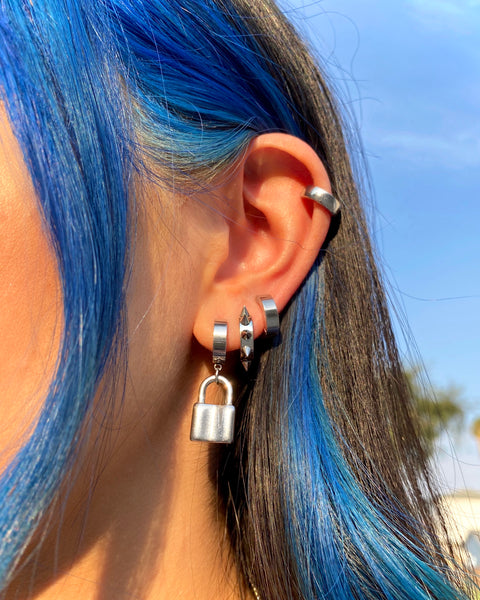 LOCK DOWN EARRINGS