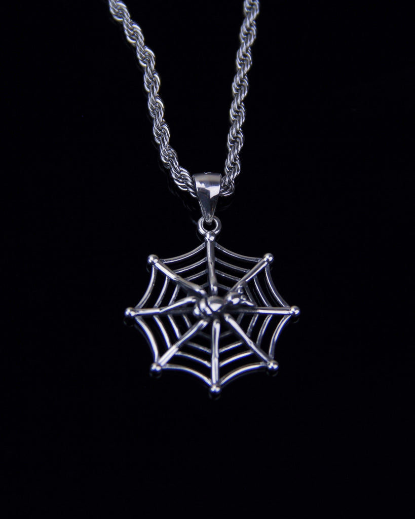 CAUGHT IN YOUR WEB NECKLACE