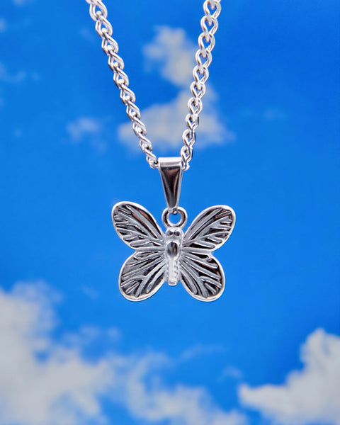 SUGAR BUTTERFLY NECKLACE