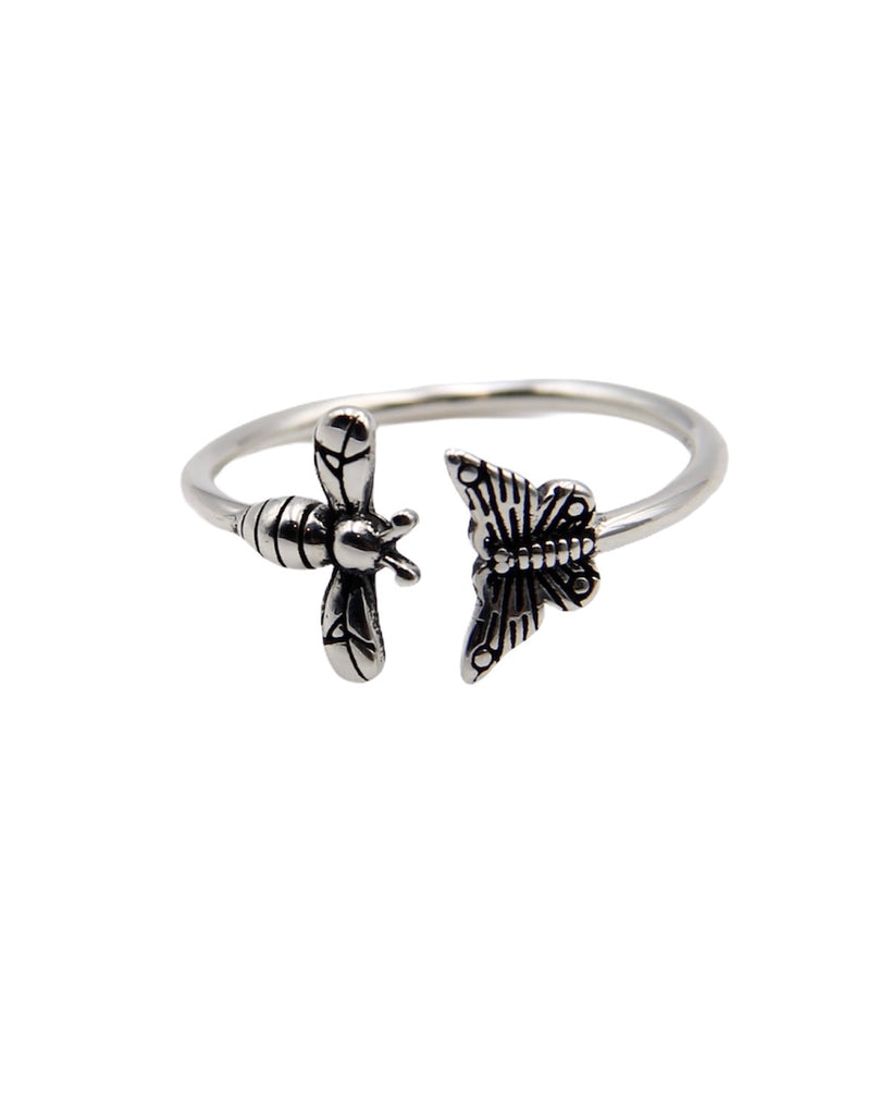 BUTTERFLY QUEEN BEE RING