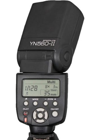 Yongnuo YN-560 II Speedlight Flash for Canon and Nikon.