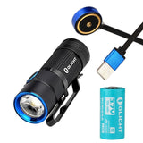 Brand New Olight S1R 900 Lumens LED EDC magnetic charging compact flashlight keychain Light
