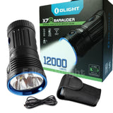 Brand New OLIGHT X7R Marauder 12,000 Lumens rechargeable LED Flashlight/Searchlight