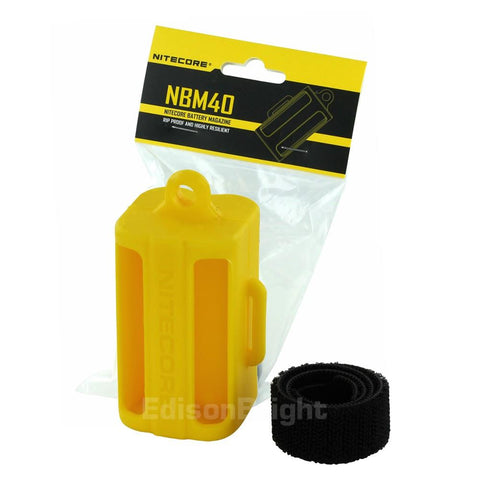 Nitecore Multi-Purpose Portable Battery Magazine NBM40 Secure Carry for Delicate Items
