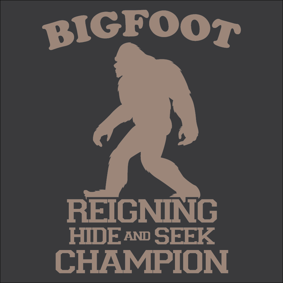 a08ff9483 Bigfoot Hide And Seek – Your Tees