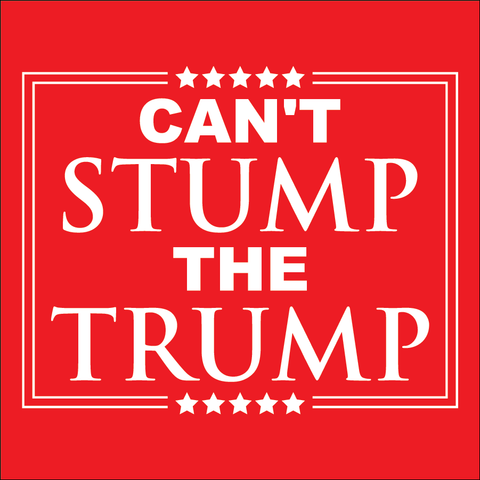 Can't Stump Trump