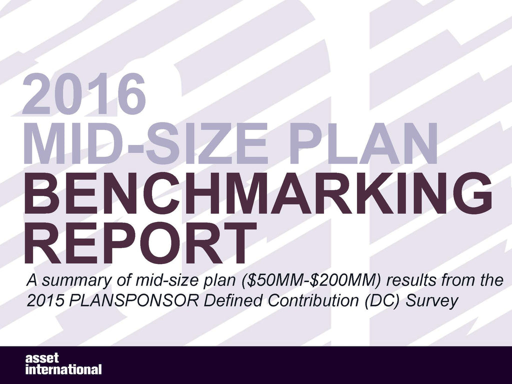 2016 Mid Plan Benchmarking Report