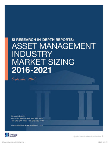 Asset Management Industry Market Sizing: 2016-2021