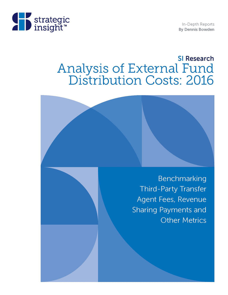Analysis of External Fund Distribution Costs: 2016