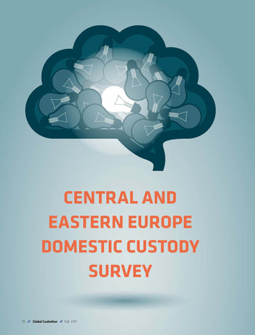 2017 Domestic Custody Survey Central and Eastern Europe