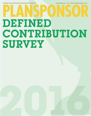 2016 Defined Contribution Survey