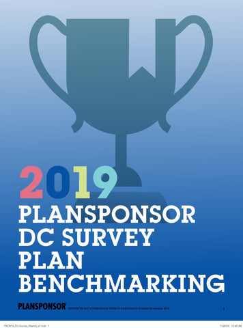 2019 DC SURVEY: PLAN BENCHMARKING