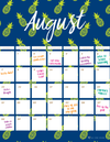 August To-Do List