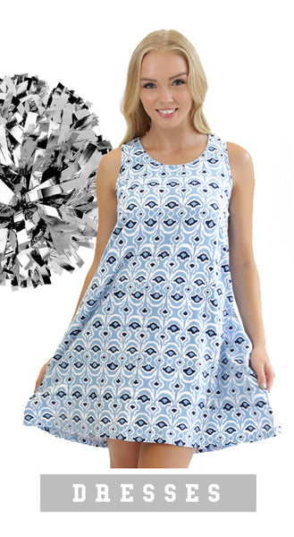 trendy and cute game day dresses