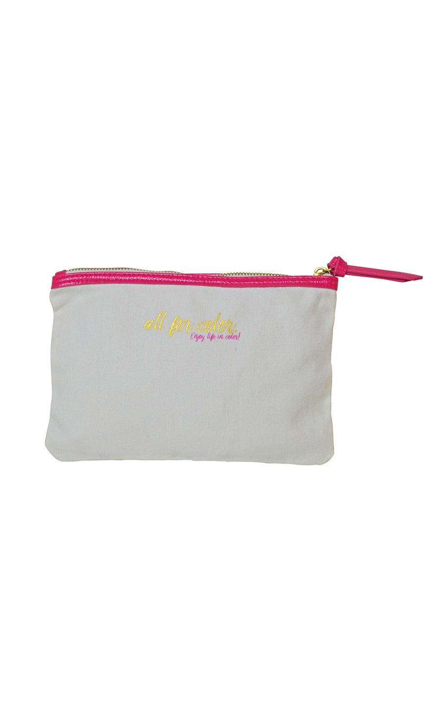 All For Color Branded Pouch - FINAL SALE