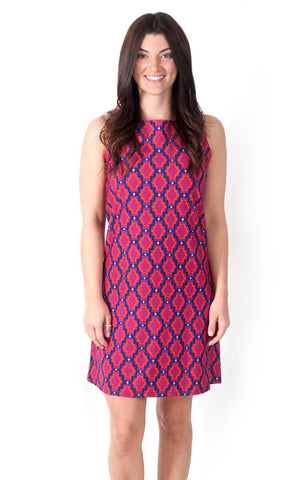 Pom Berry West Ave Shift Dress
