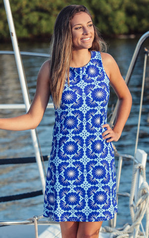Blue Lagoon West Ave Shift Dress