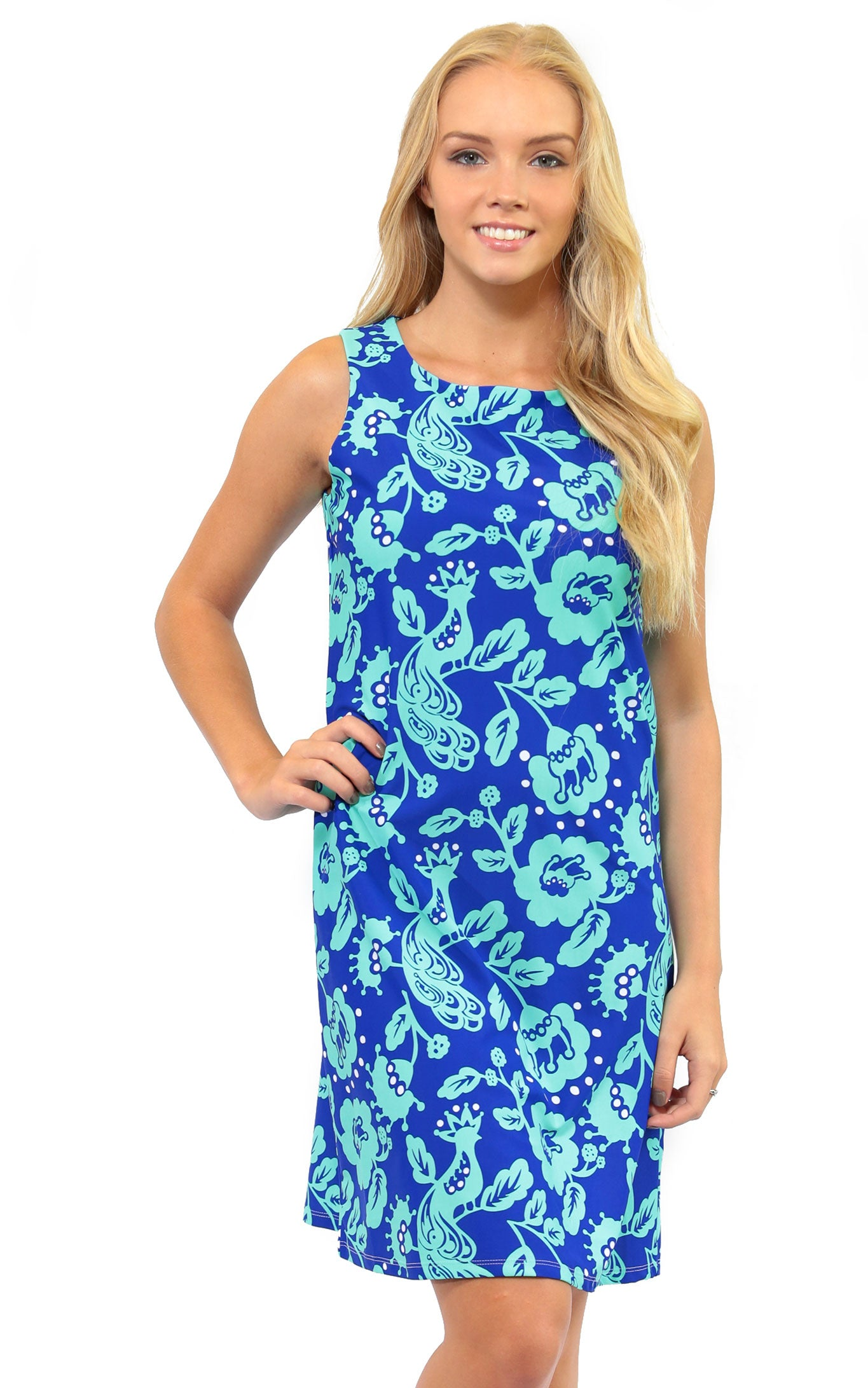 Birds of a Feather West Ave Shift Dress