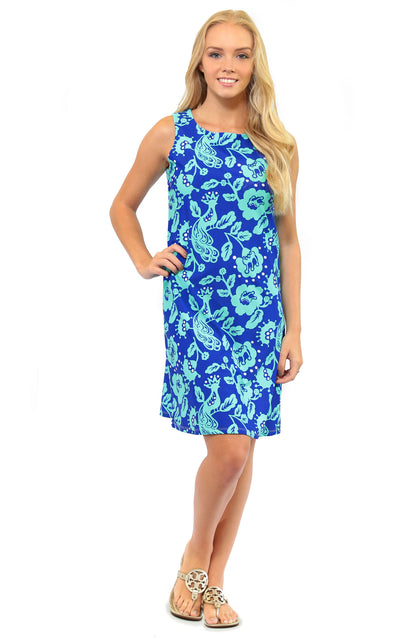 All For Color-Birds of a Feather West Ave Shift Dress - FINAL SALE-Dresses