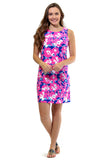 All For Color-Maui Summers West Ave Shift Dress - FINAL SALE-Dresses