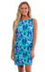 Bahama Blue West Ave Shift Dress