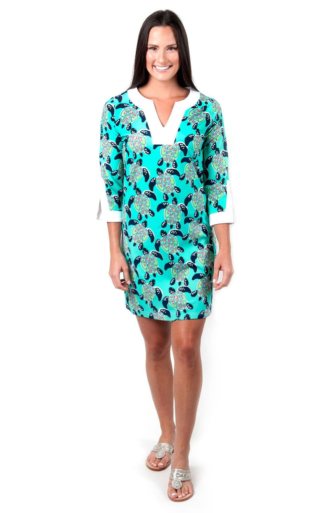 Turtle Cove Prescot Lane Tunic Dress