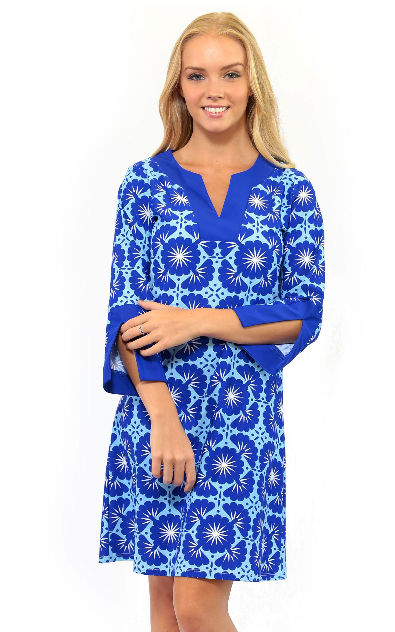 Blue Lagoon Prescot Lane Tunic Dress