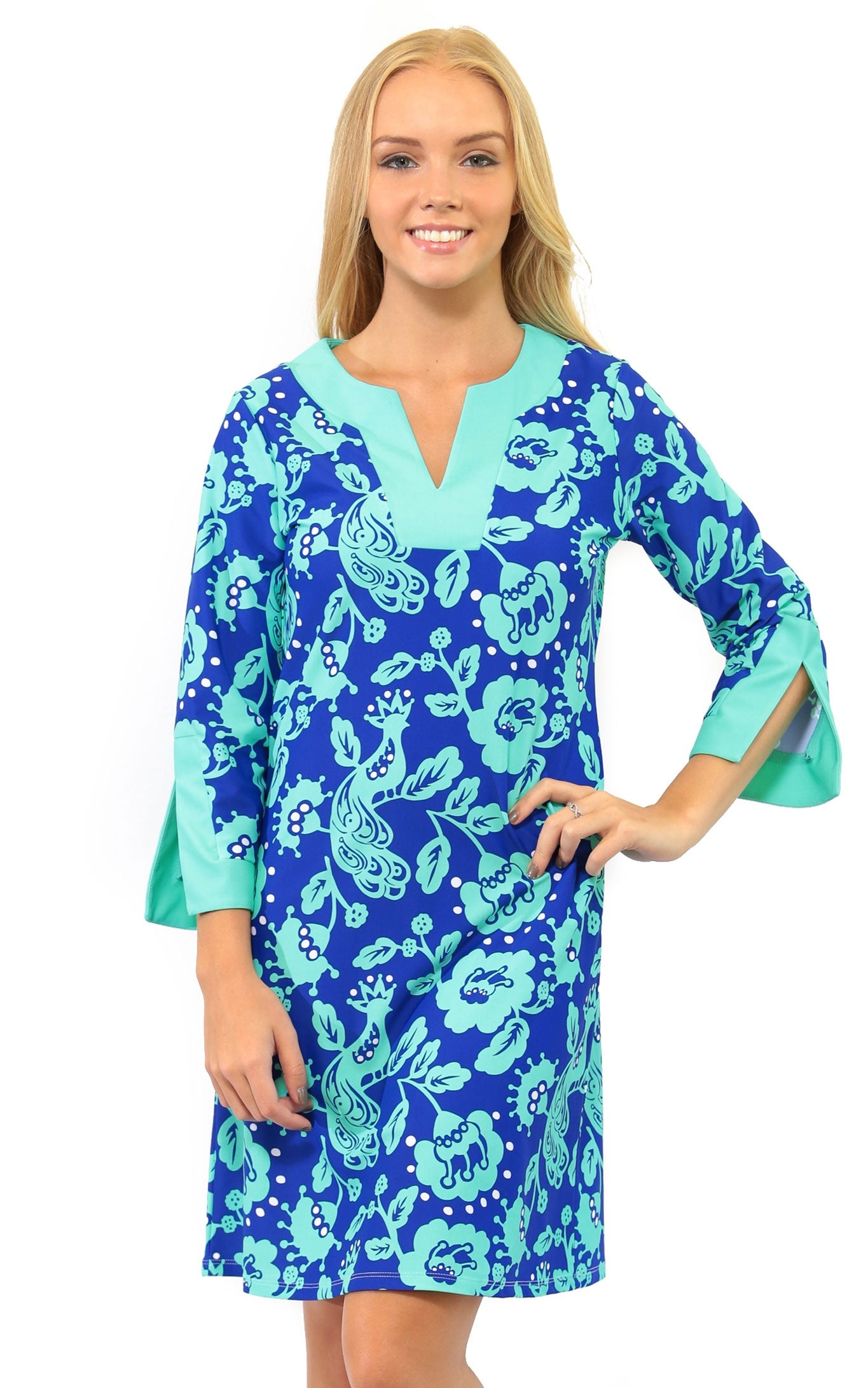 Birds Of A Feather Prescot Lane Tunic Dress Final Sale All For Color
