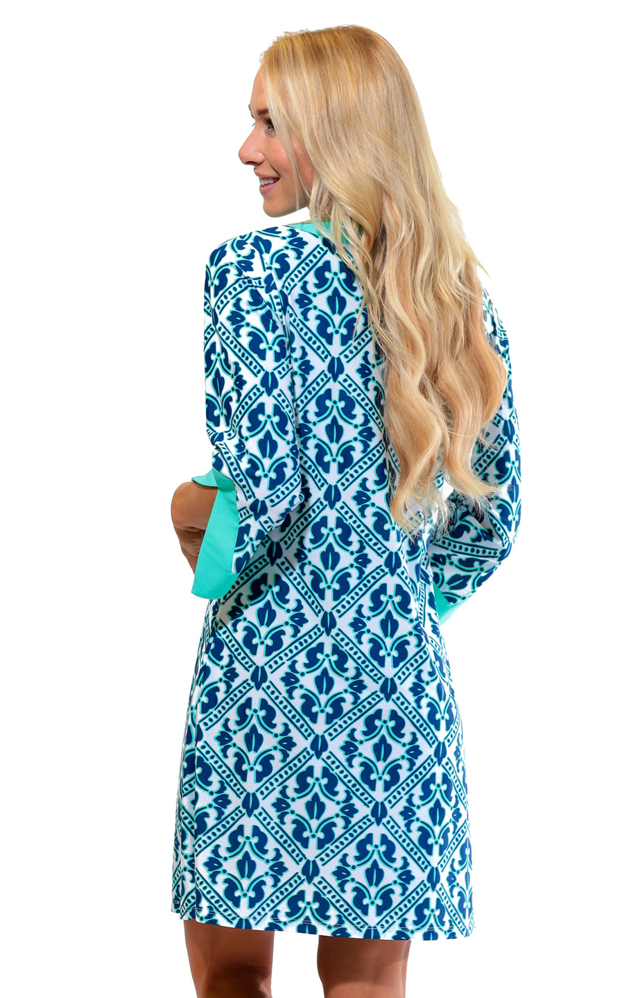 Aqua Trellis Prescot Lane Tunic Dress